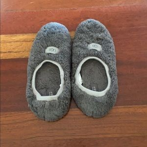 Ugg grey slippers. Size 8.